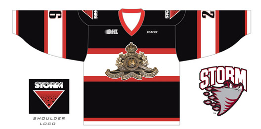 STORM VETERAN'S WEEK GAME TO FEATURE UNIQUE JERSEYS