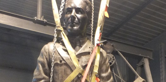 John McCrae, Completed in wax and Secured for Viewing